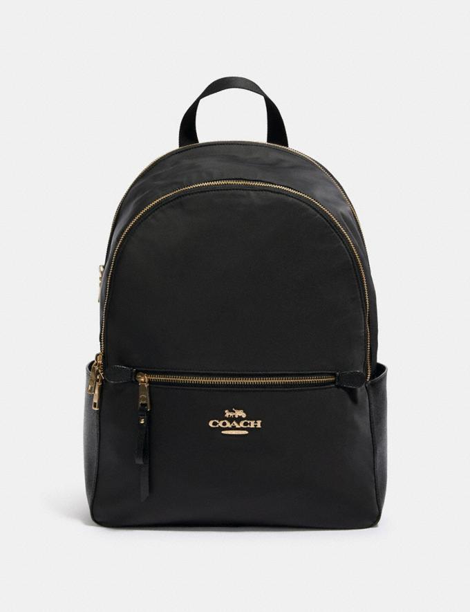 Coach Addison Backpack Im/Black Women Business Essentials