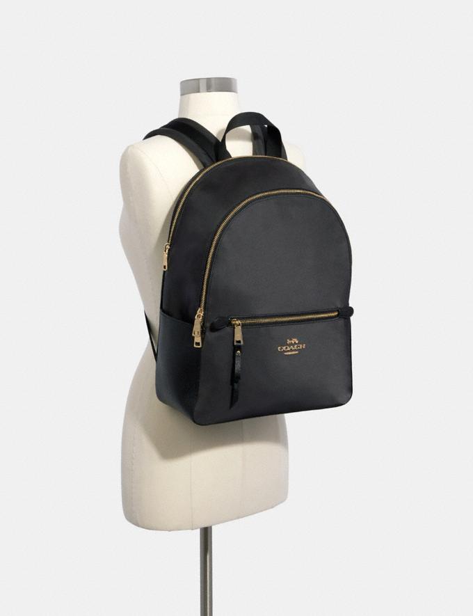 Coach Addison Backpack Im/Black DEFAULT_CATEGORY Alternate View 2