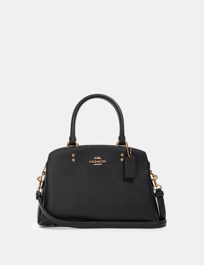 Coach Mini Lillie Carryall Im/Black