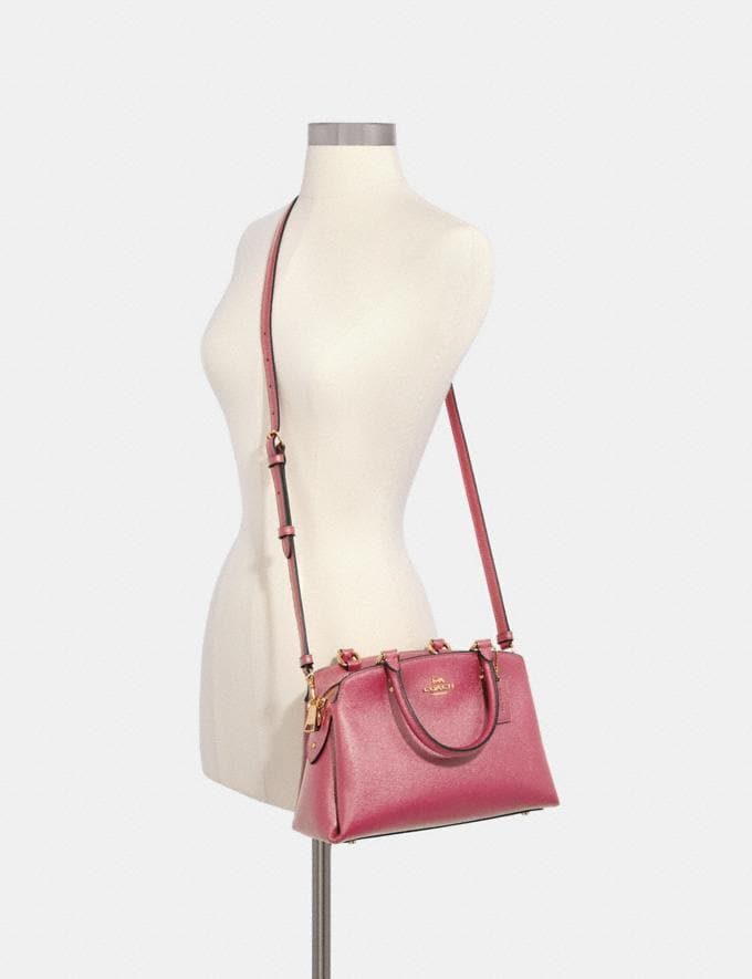 Coach Mini Lillie Carryall Im/Rose What's New Alternate View 2