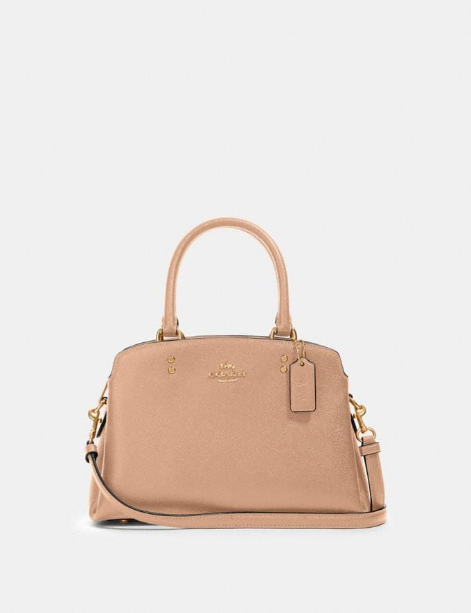 Coach Mini Lillie Carryall Im/Taupe Deals