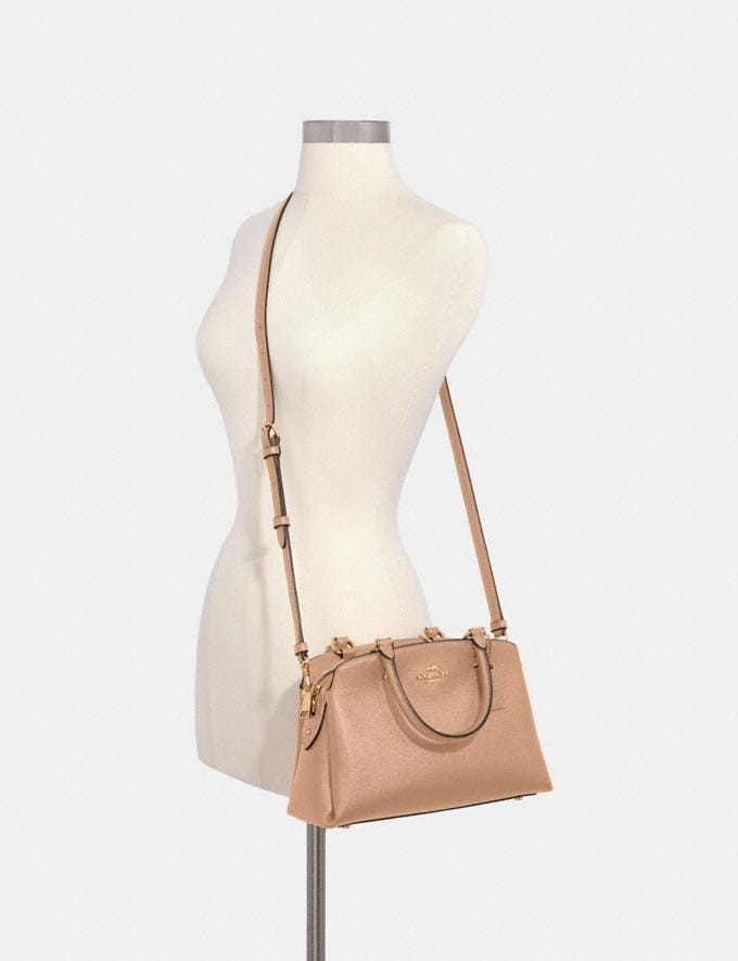 Coach Mini Lillie Carryall Im/Taupe Deals Alternate View 2