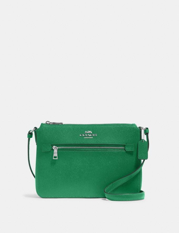 Coach Gallery File Bag Sv/Shamrock Gifts Gifts