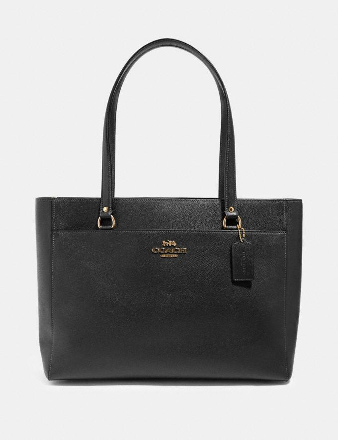 Coach Addison Tote Im/Black