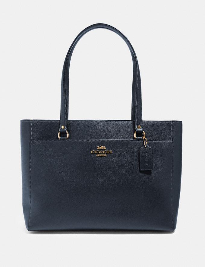 Coach Addison Tote Im/Midnight Handbags Handbags