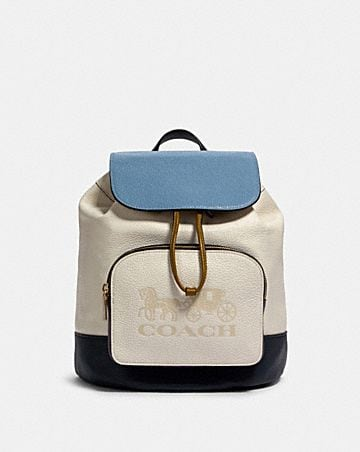 jes backpack in colorblock