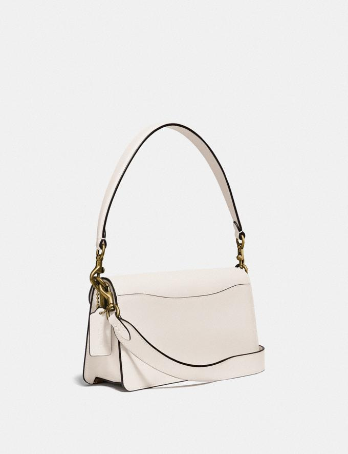Coach Tabby Shoulder Bag 26 With Signature Canvas Brass/Chalk Chalk Gifts For Her Under $500 Alternate View 1