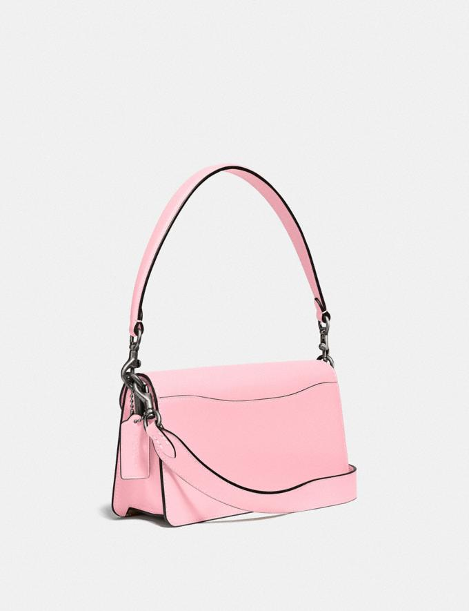 Coach Tabby Shoulder Bag 26 With Signature Canvas Pewter/Tan Powder Pink Seasonal Offers Women Bags Alternate View 1