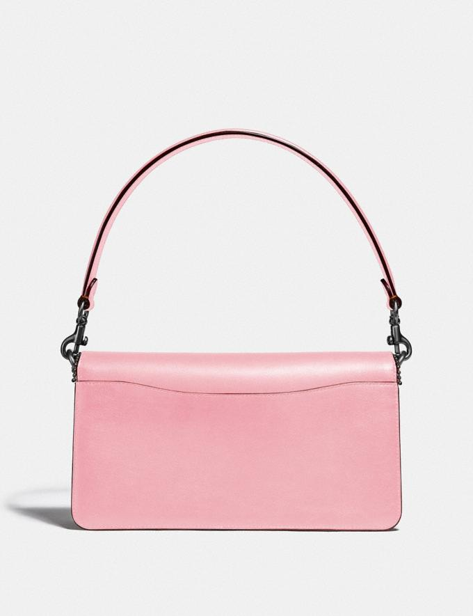 Coach Tabby Shoulder Bag 26 With Signature Canvas Pewter/Tan Powder Pink Seasonal Offers Women Bags Alternate View 2