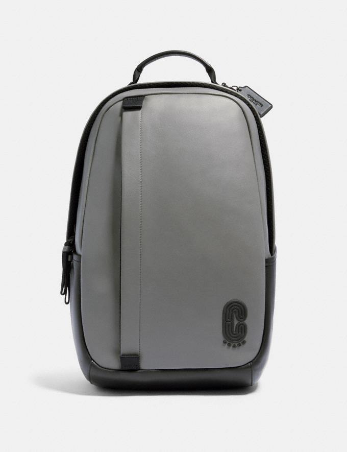 Coach Edge Backpack Qb/Heather Grey