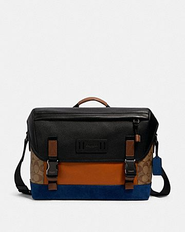 ranger messenger in signature canvas with mountaineering detail