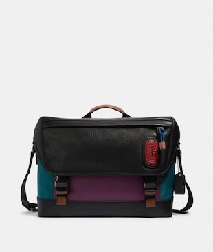 RANGER MESSENGER IN COLORBLOCK WITH COACH PATCH
