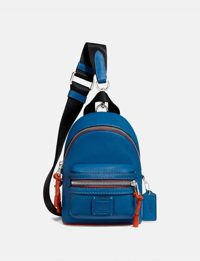 Coach Academy Backpack 15 Pacific Multi Men Bags Backpacks