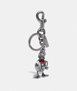 DISNEY X COACH DONALD DUCK BAG CHARM