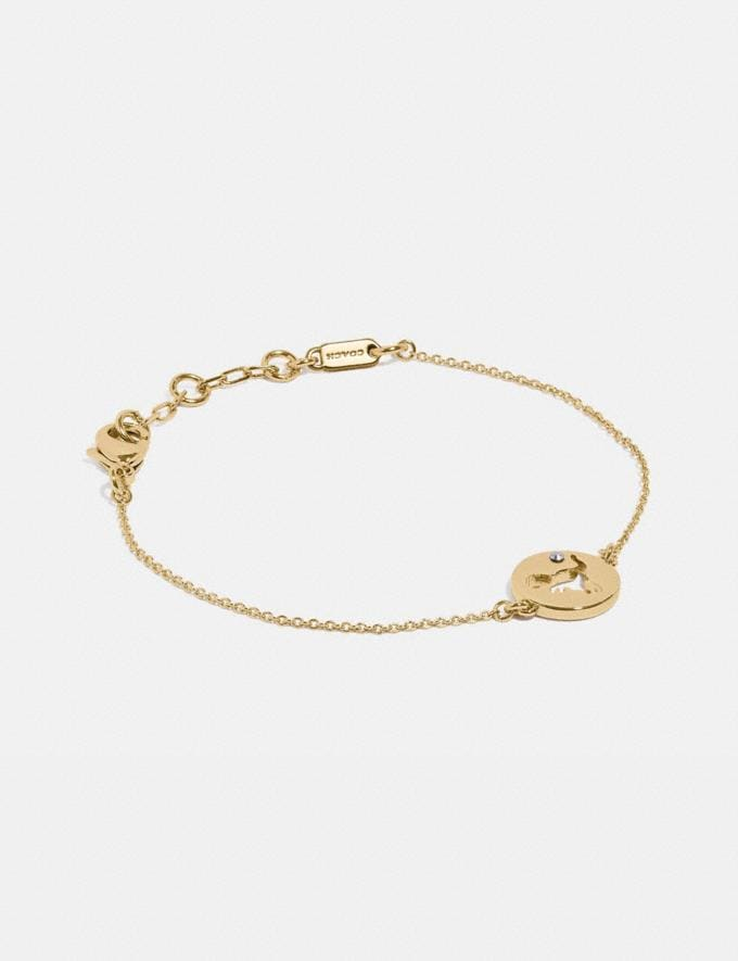 Coach Rexy Cutout Bracelet Gold Gifts For Her Under $100