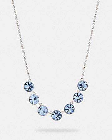 crystal link necklace