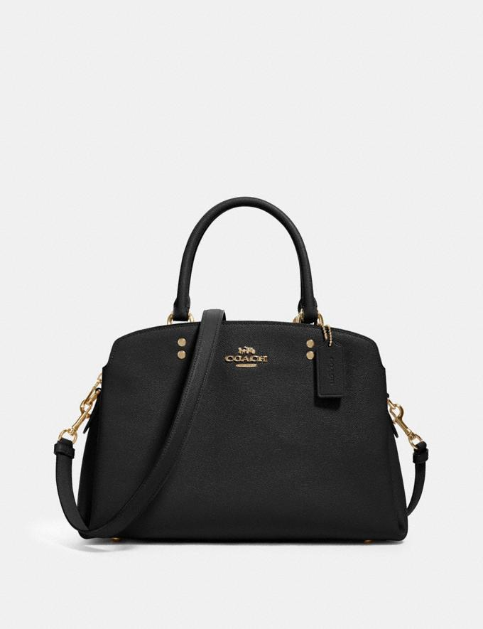 Coach Lillie Carryall Im/Black