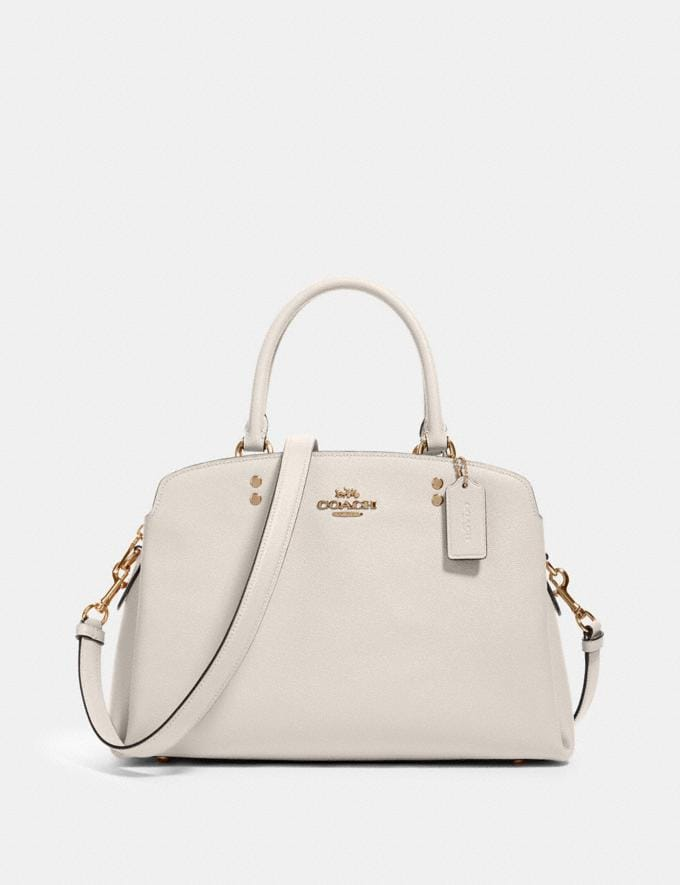 Coach Lillie Carryall Im/Chalk What's New
