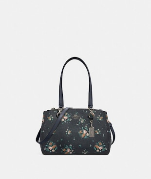 ETTA CARRYALL WITH ROSE BOUQUET PRINT
