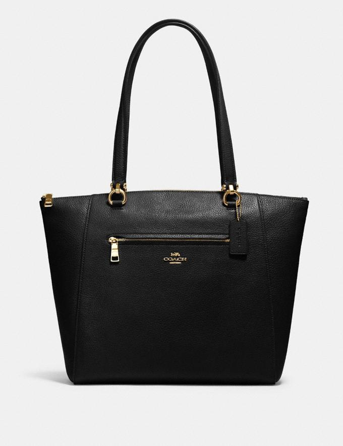 Coach Prairie Tote Im/Black What's New