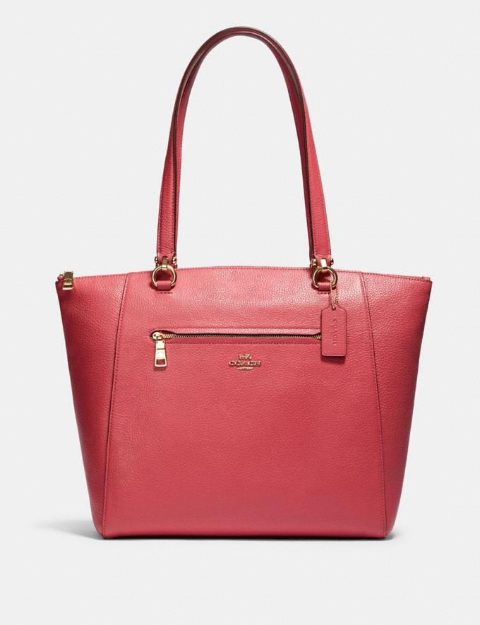 Coach Prairie Tote Im/Poppy What's New