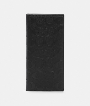 BREAST POCKET WALLET IN SIGNATURE LEATHER