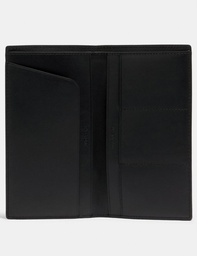 Coach Slim Passport Wallet Qb/Black  Alternate View 1