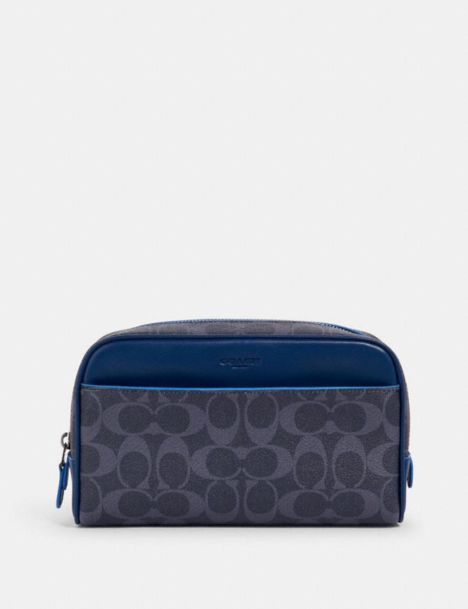 Coach Overnight Travel Kit in Signature Canvas Qb/Denim Multi Deals 500+ Styles at 70% Off