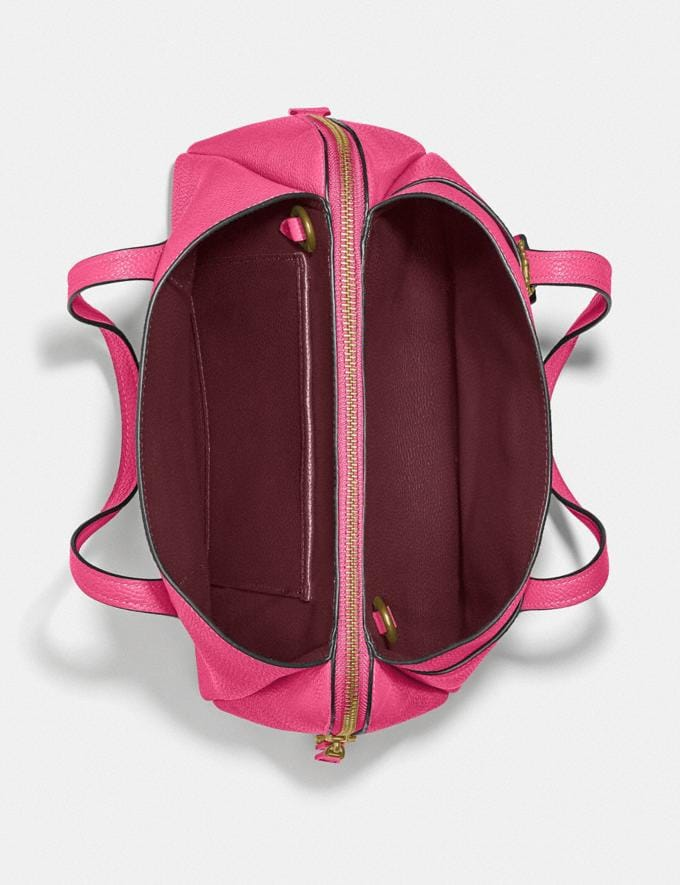 Coach Lora Carryall 30 Brass/Confetti Pink New Women's New Arrivals Bags Alternate View 2