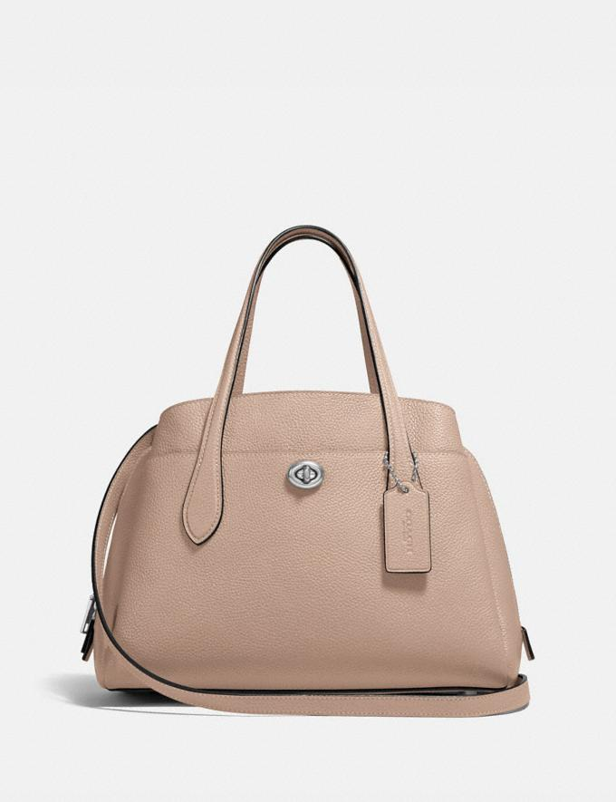 Coach Lora Carryall 30 Lh/Taupe New Women's New Arrivals