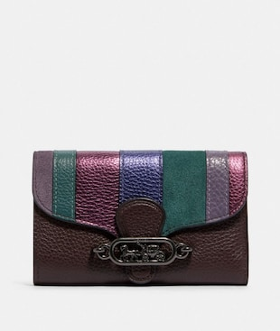 JADE MEDIUM ENVELOPE WALLET WITH PIECING