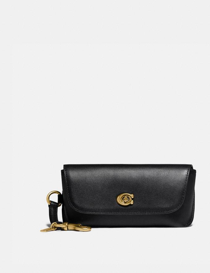 Coach Sunglass Case Bag Charm B4/Black Gifts For Her Under $100