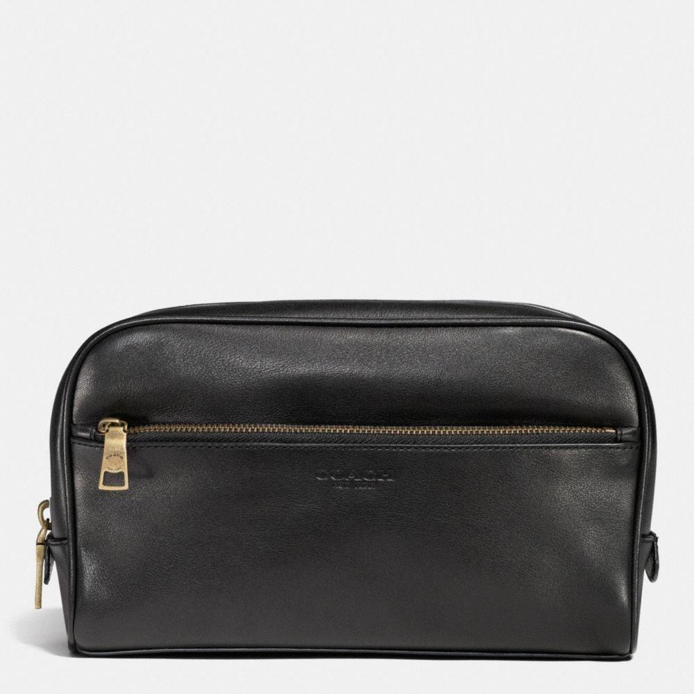 Bleecker Carry-On Dopp Kit in Leather