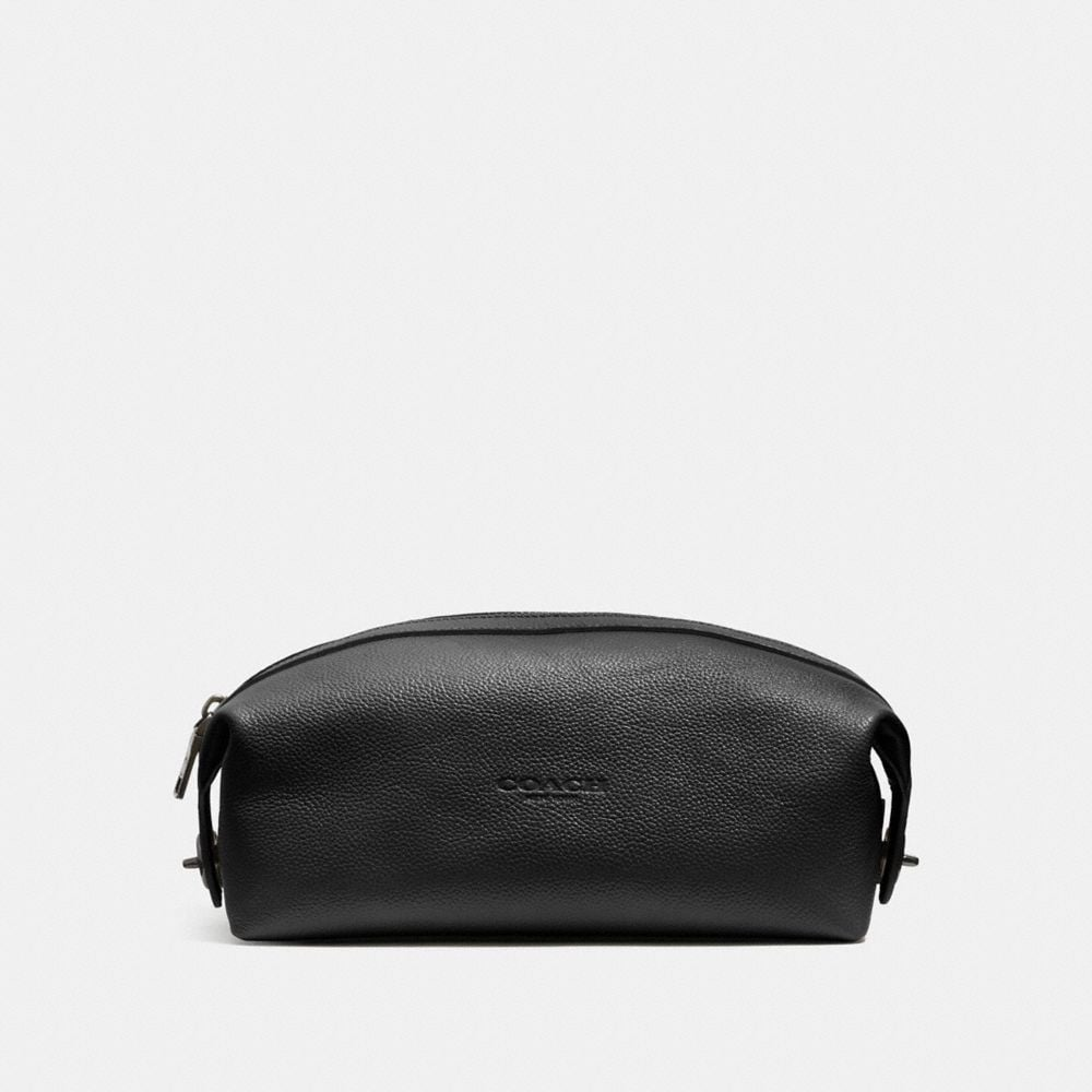 Dopp Kit in Refined Pebble Leather
