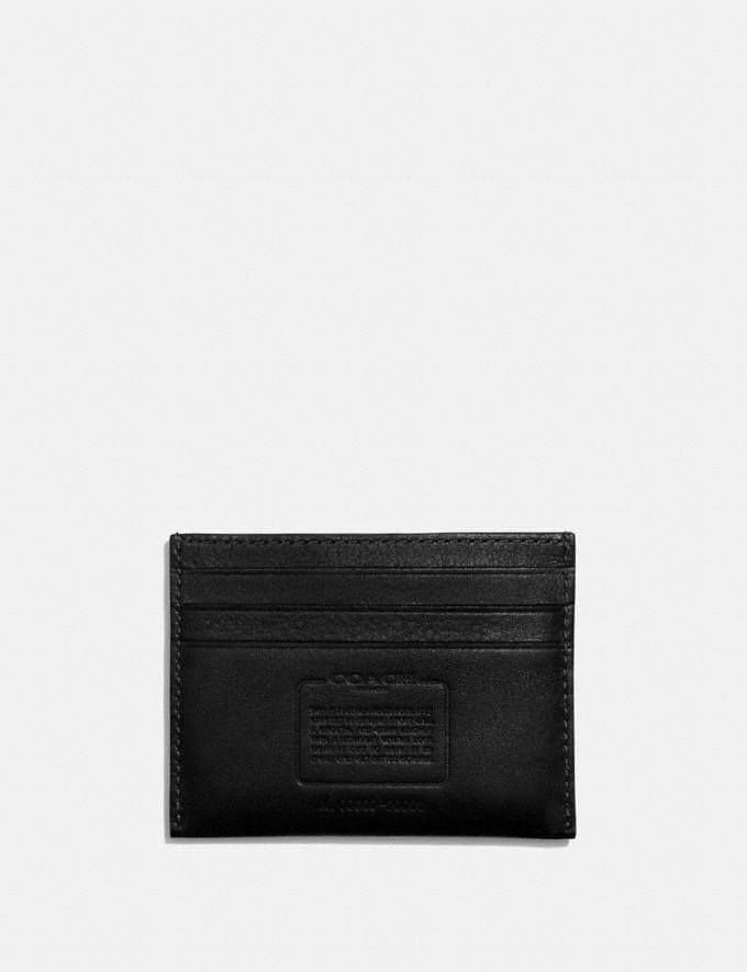 Coach Card Case Black Men Wallets Card Cases Alternate View 1