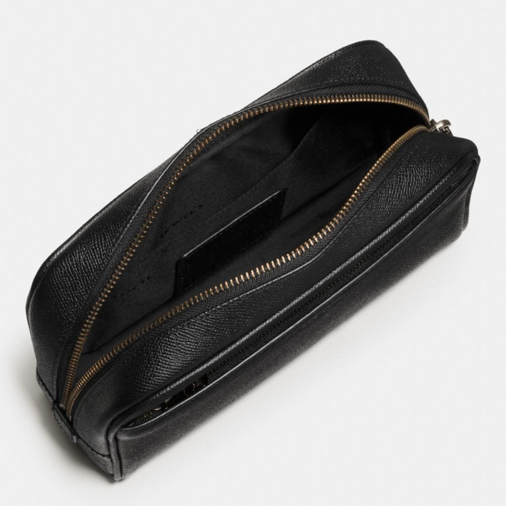 Coach Carry-On Dopp Kit in Crossgrain Leather Alternate View 1