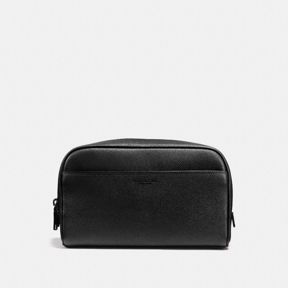 Carry-On Dopp Kit in Crossgrain Leather