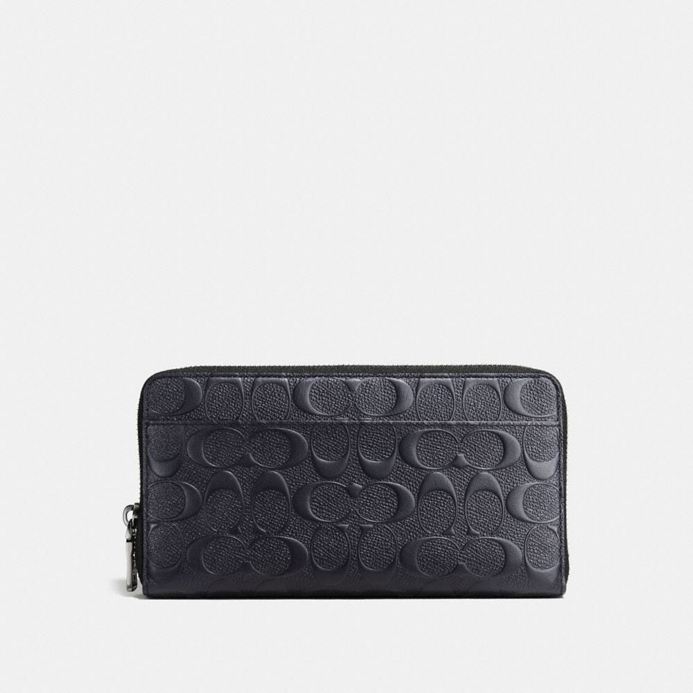 Coach Document Wallet in Signature Leather