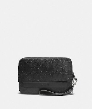 POUCHETTE IN SIGNATURE LEATHER