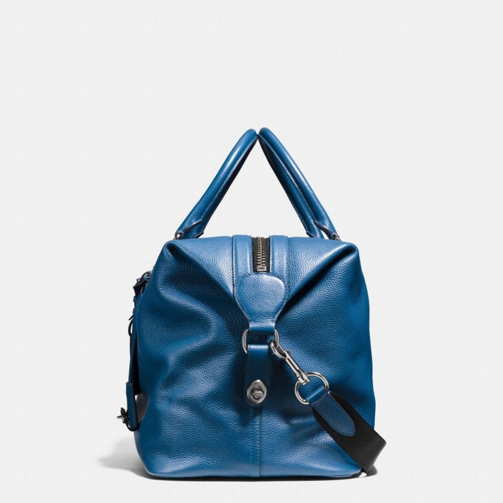 Varsity Stripe Explorer Bag in Pebble Leather - Alternate View A1