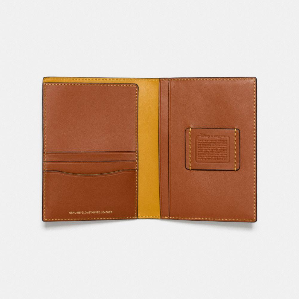 Mickey Passport Case in Glovetanned Leather - Alternate View A2