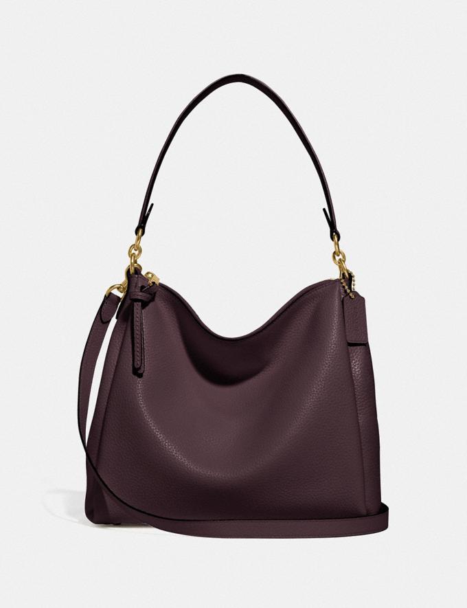 Coach Shay Shoulder Bag B4/Oxblood Women Bags Shoulder Bags