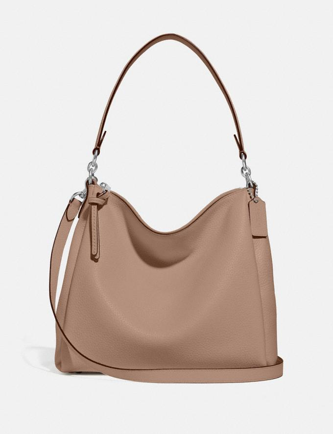 Coach Shay Shoulder Bag Silver/Taupe PRIVATE SALE For Her Bags