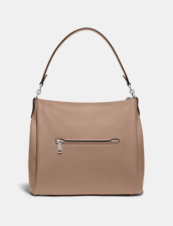 Coach Shay Shoulder Bag Silver/Taupe PRIVATE SALE For Her Bags Alternate View 2