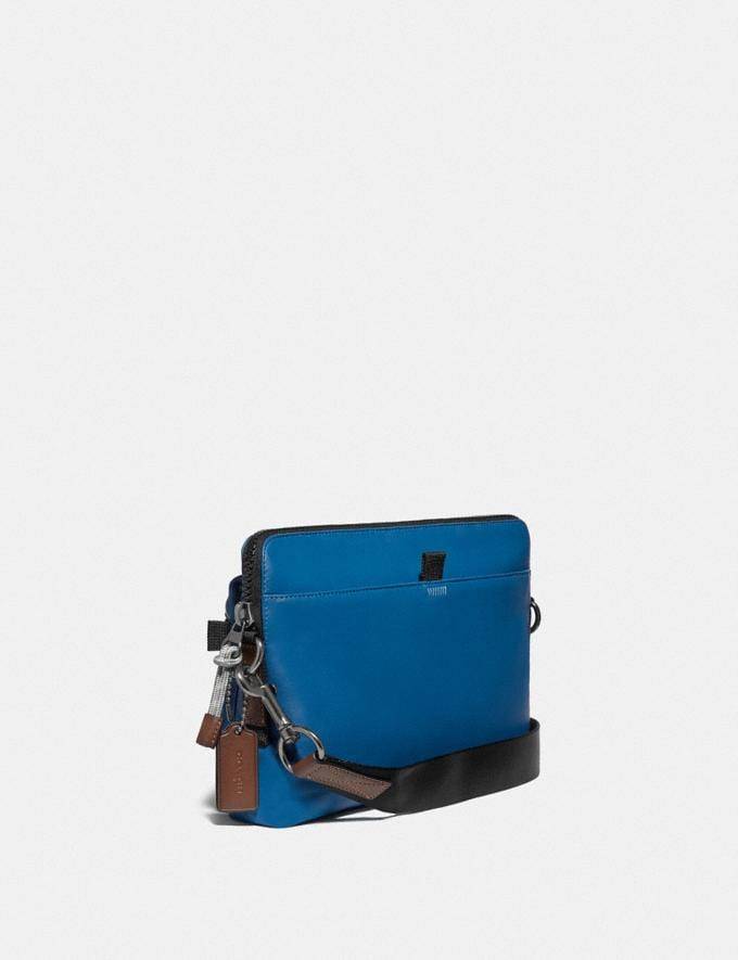 Coach Pacer Modular Crossbody With Coach Patch Ji/Pacific Men Bags Messenger Bags Alternate View 1