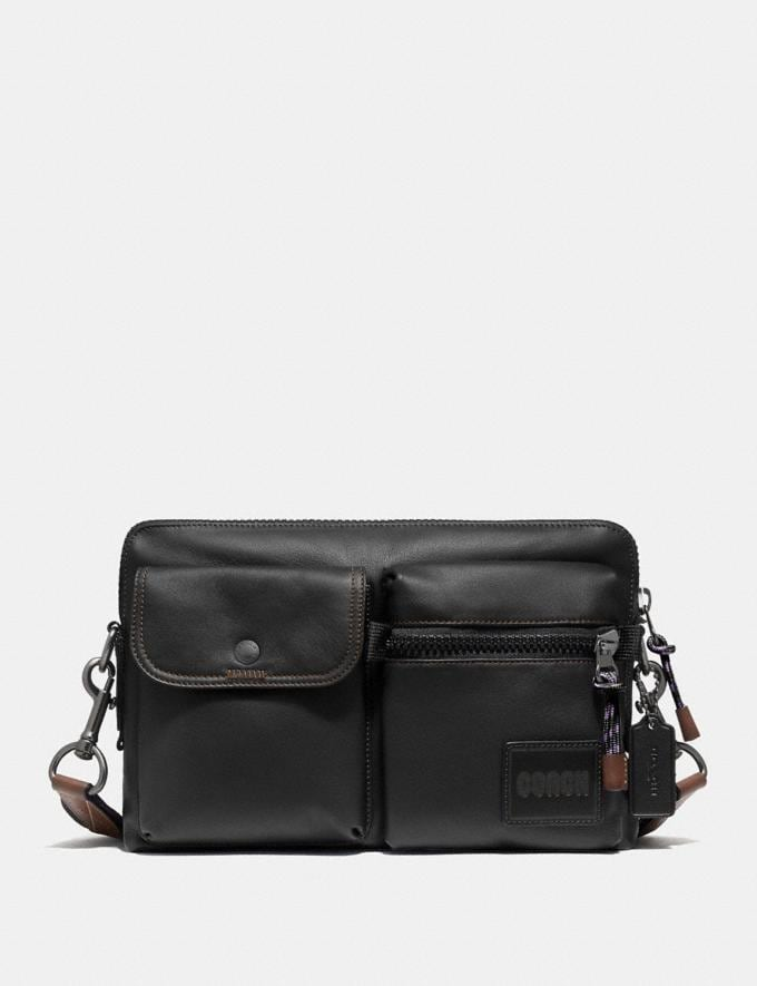 Coach Pacer Modular Crossbody With Coach Patch Ji/Black Gifts For Him Under £500