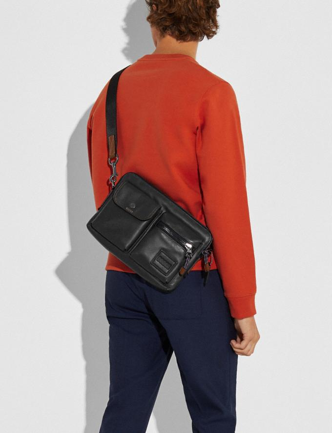 Coach Pacer Modular Crossbody With Coach Patch Ji/Black Gifts For Him Under £500 Alternate View 3