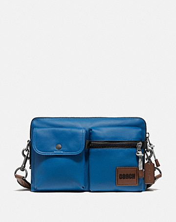 pacer modular crossbody with coach patch