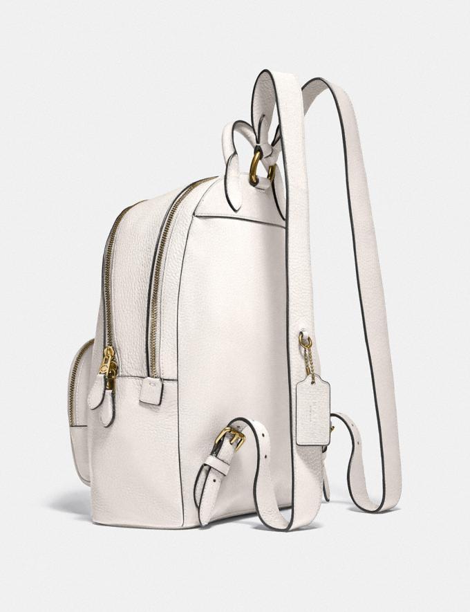 Coach Carrie Backpack Brass/Black Women Bags Backpacks Alternate View 1