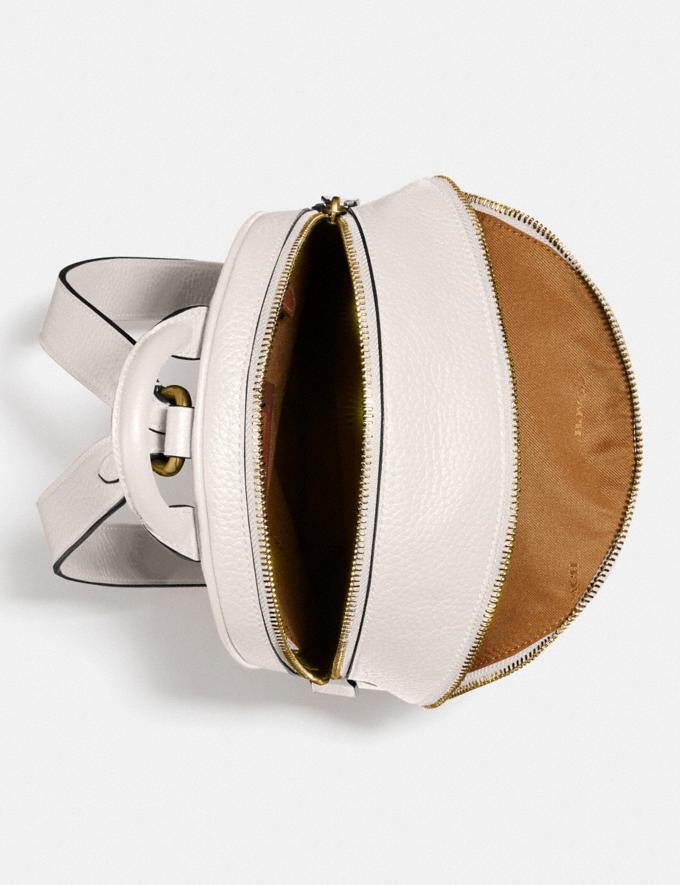 Coach Carrie Backpack Brass/Black Women Bags Backpacks Alternate View 2